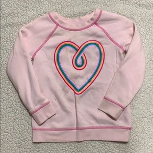 Cat & Jack Girls Pullover 💜 Pink Sweater SZ 5T